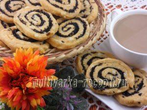 Печенье с сыром и маслинами