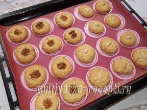 Ореховое печенье на желтках