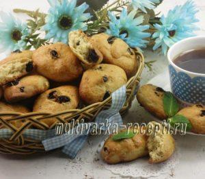 Кукурузное печенье с изюмом. Печенье Дзалетти