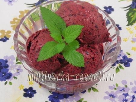 Ягодное мороженое, рецепт
