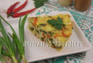 Рыбная запеканка с овощами в духовке