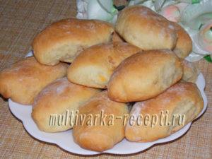 Пирожки на майонезе в духовке